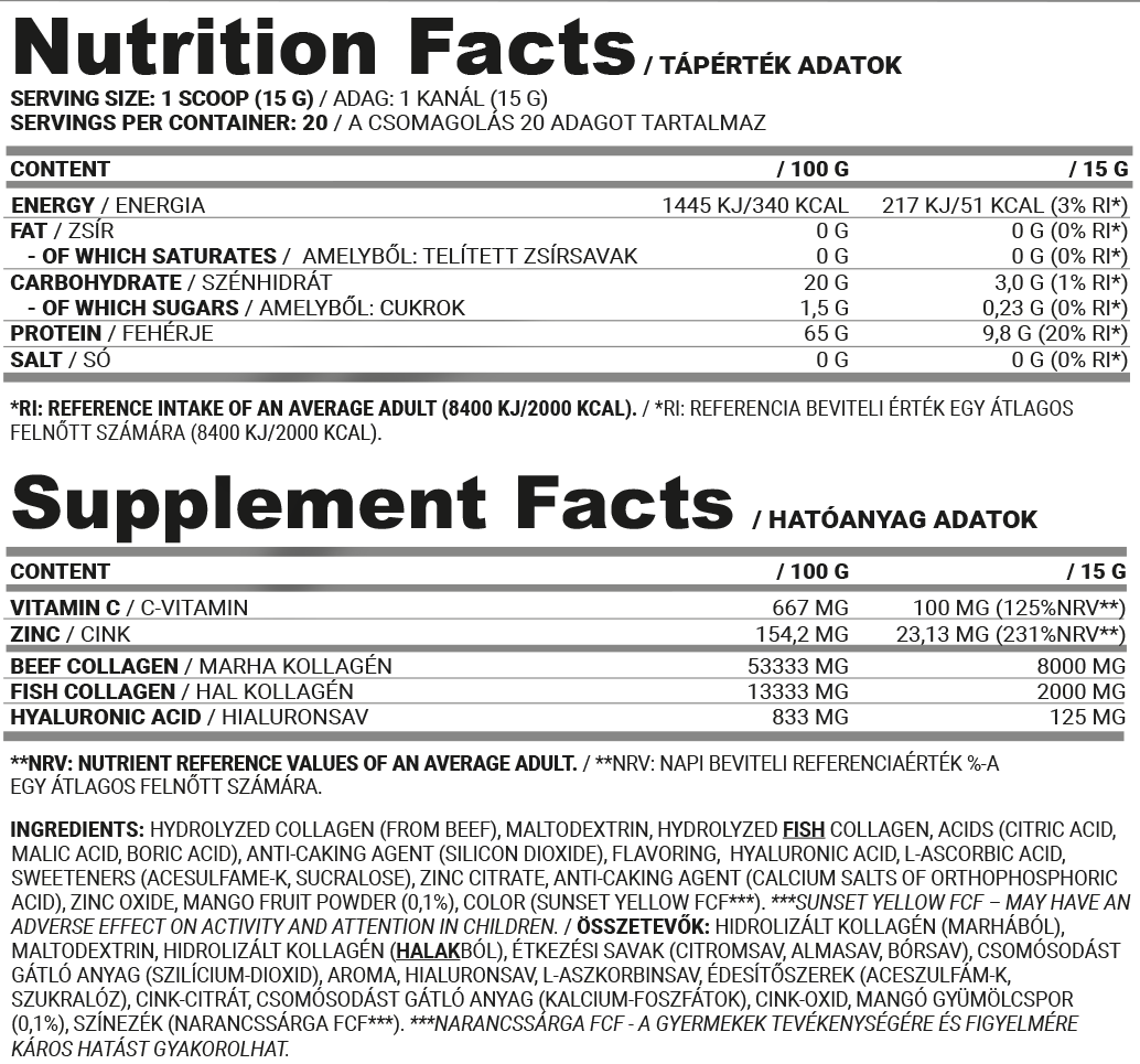 Nutriversum Beef&Fish Collagen