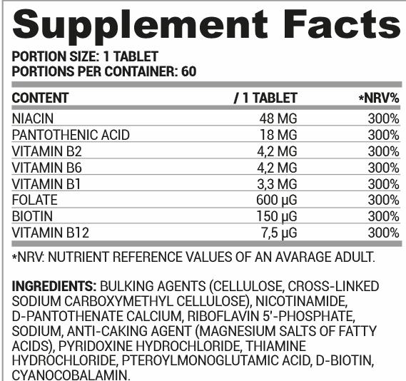 Nutriversum B-complex - B-vitamin komplex